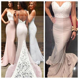 Mermaid Prom Dresses, Backless Prom Dresses, Sexy Bridesmaid Dresses, Spaghetti Straps Bridesmaid Dresses, Popular Prom Dresses, Custom Bridesmaid Dresses , Cheap Bridesmaid Dresses, PD0019