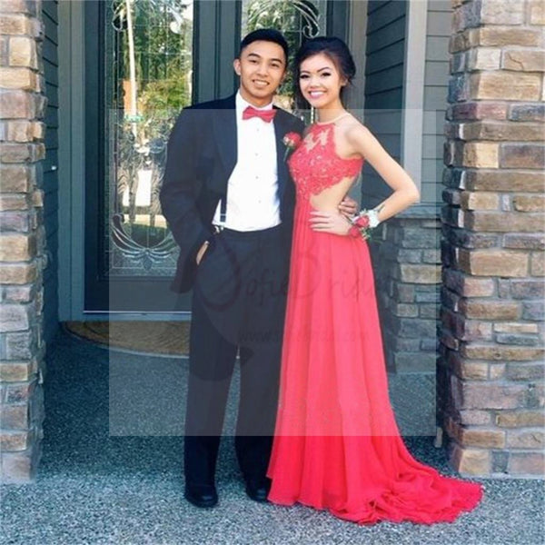 Long Prom Dresses, Red Prom Dresses, Cheap Prom Dresses, Backless Prom Dresses, Custom Elegant Prom Dresses, Evening dresses, PD0033