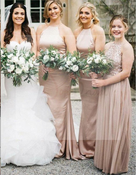 Simple Design Mermaid Bridesmaid Dresses, Elegant Bridesmaid Dresses, Bridesmaid Dresses, WG64