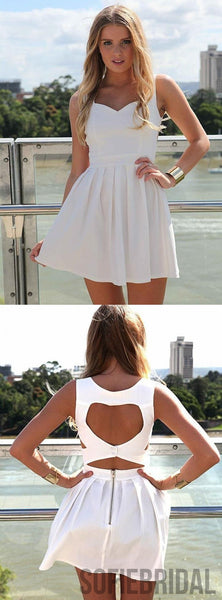 New Arrive Sweetheart Open back Simple Lovely Homecoming Dresses, HD0113
