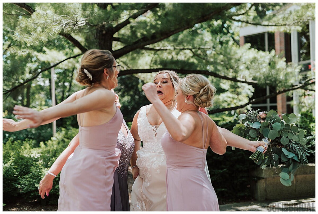 A-line V-neck Floor-length Straps Backless Long Chiffon Bridesmaid Dresses , BD1085