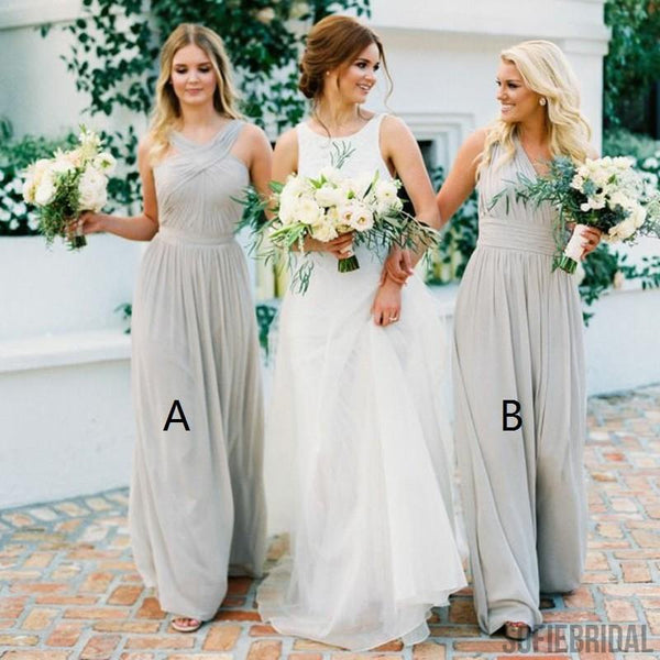 Elegant Lace Bridesmaid Dresses, Short Bridesmaid Dresses, Dark Grey Bridesmaid Dresses, PD0494