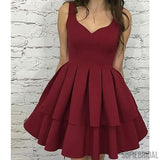 Simple Lovely Homecoming Dresses, Cheap Homecoming Dresses, Short Prom Dresses, SF0112