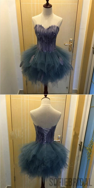 Sweetheart Tulle Homecoming Dresses, Lovely Homecoming Dresses, Homecoming Dresses, SF0092