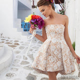 Lace Homecoming Dresses, Cheap Homecoming Dresses, Simple Homecoming Dresses, SF0119
