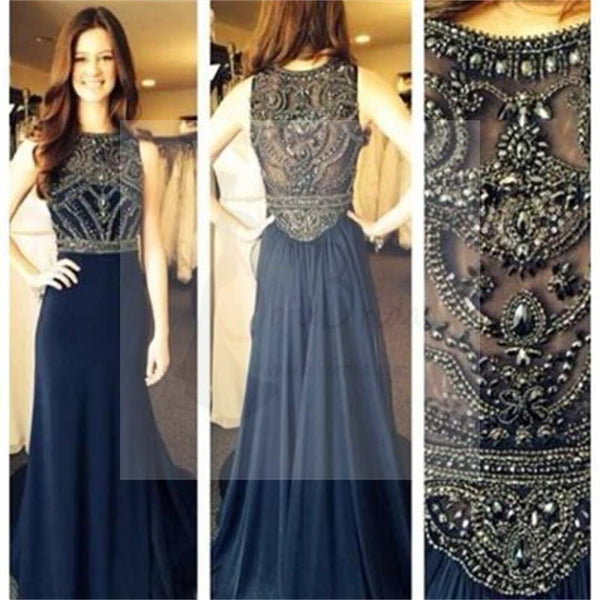 Navy Prom Dresses, Long Prom Dresses, Popular Prom Dresses, Pretty Prom Dresses, Best Sales Prom Dresses, Party Prom Dresses, Evening Prom Dresses, PD0006