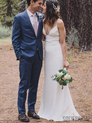 Country Wedding Dress with Belt