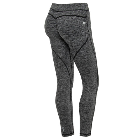 WR.UP® Sport Tights Low Waist 7/8 Melange Grey