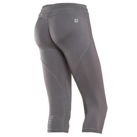 WR.UP® Sport Low Waist Capri Sport Grey