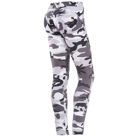 WR.UP® Low Waist Full Length Fashion White Camo