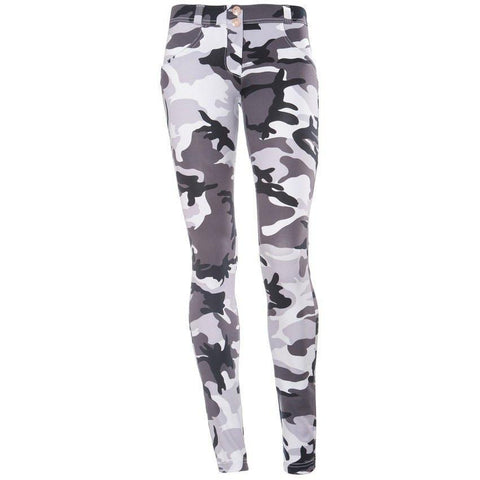 WHITE CAMO D.I.W.O® - REGULAR WAIST / FULL LENGTH
