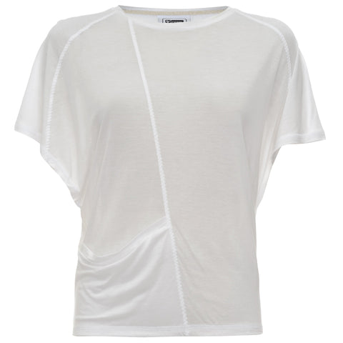 FREDDY Jersey Top Short Sleeves White