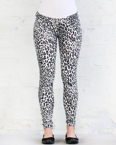 WHITE LEOPARD D.I.W.O.®- REGULAR WAIST / FULL LENGTH