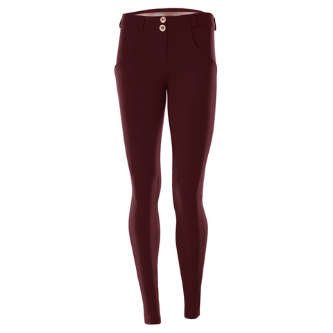 WR.UP® Low Waist Full Length Fashion Burgundy