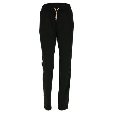 FREDDY Originals Tracksuit Pant Straight Full Length Black