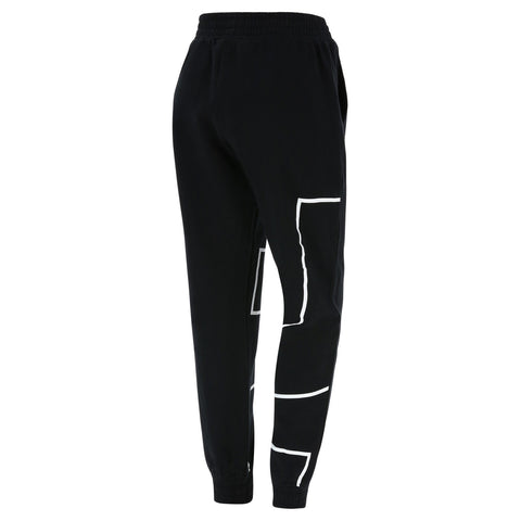 FREDDY Originals Tracksuit Pant Cuffed Full Length Black