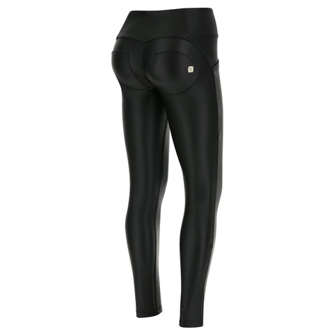 WR.UP® High Waist 3 Button Faux Leather