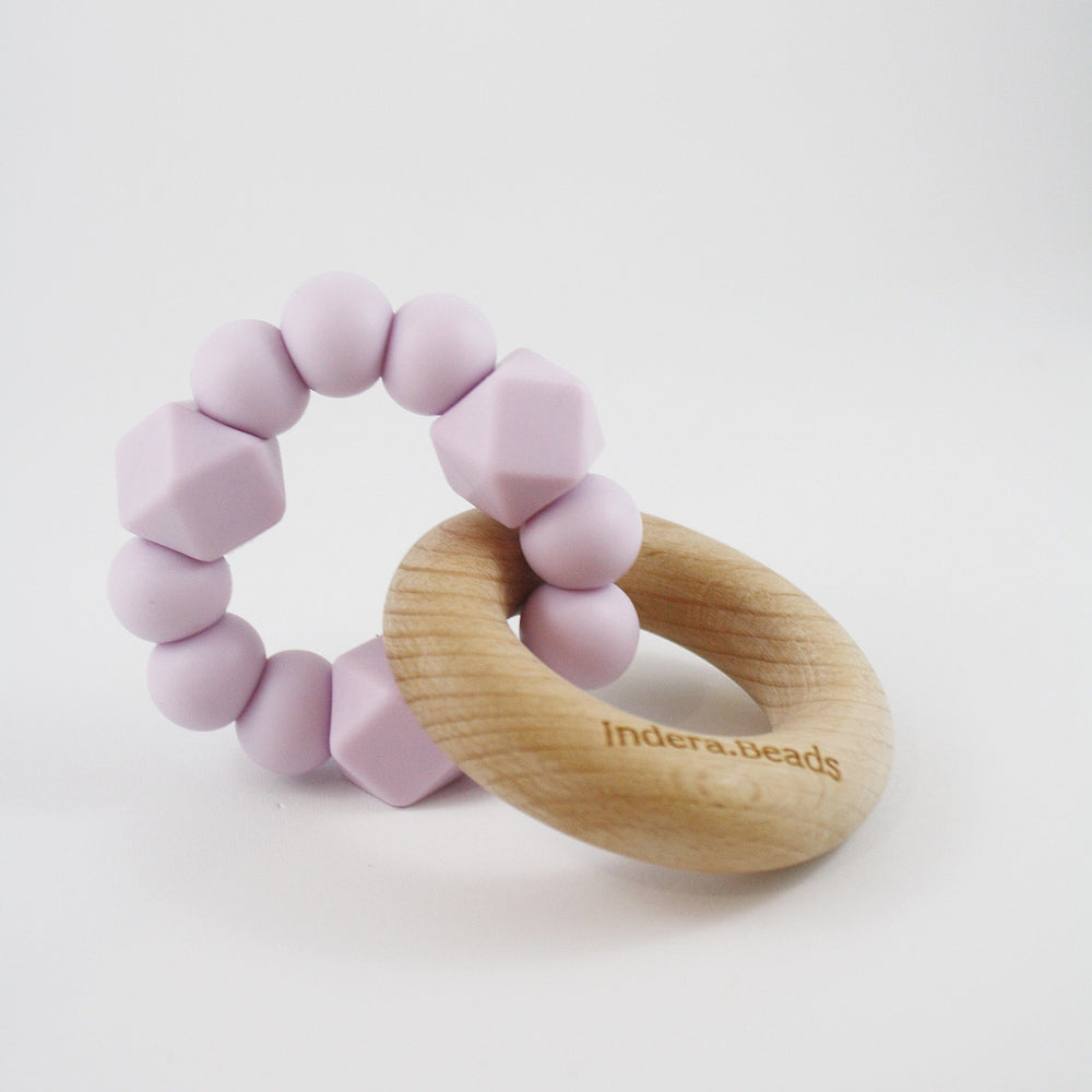 Pastel Silicone Teether