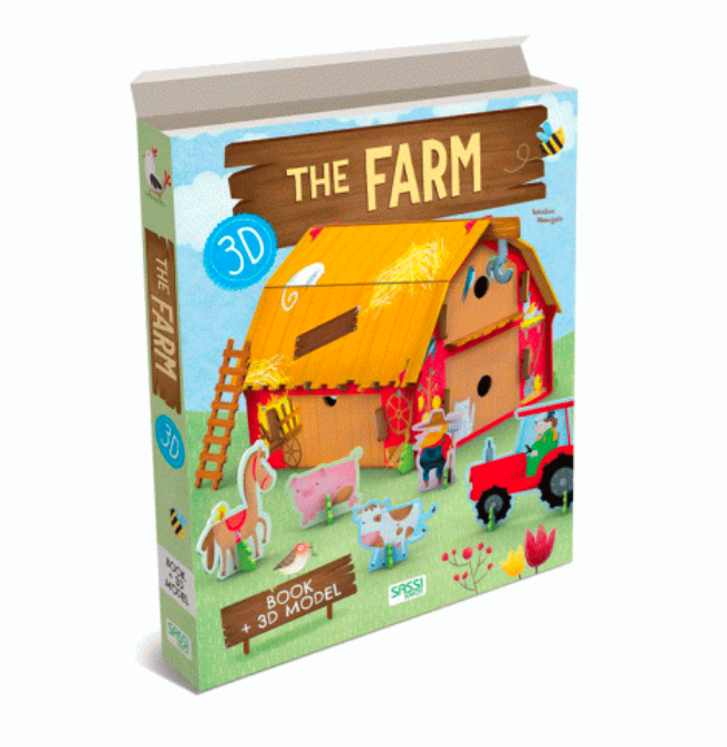 Sassi 3D Assemble, Build and Book - Farm