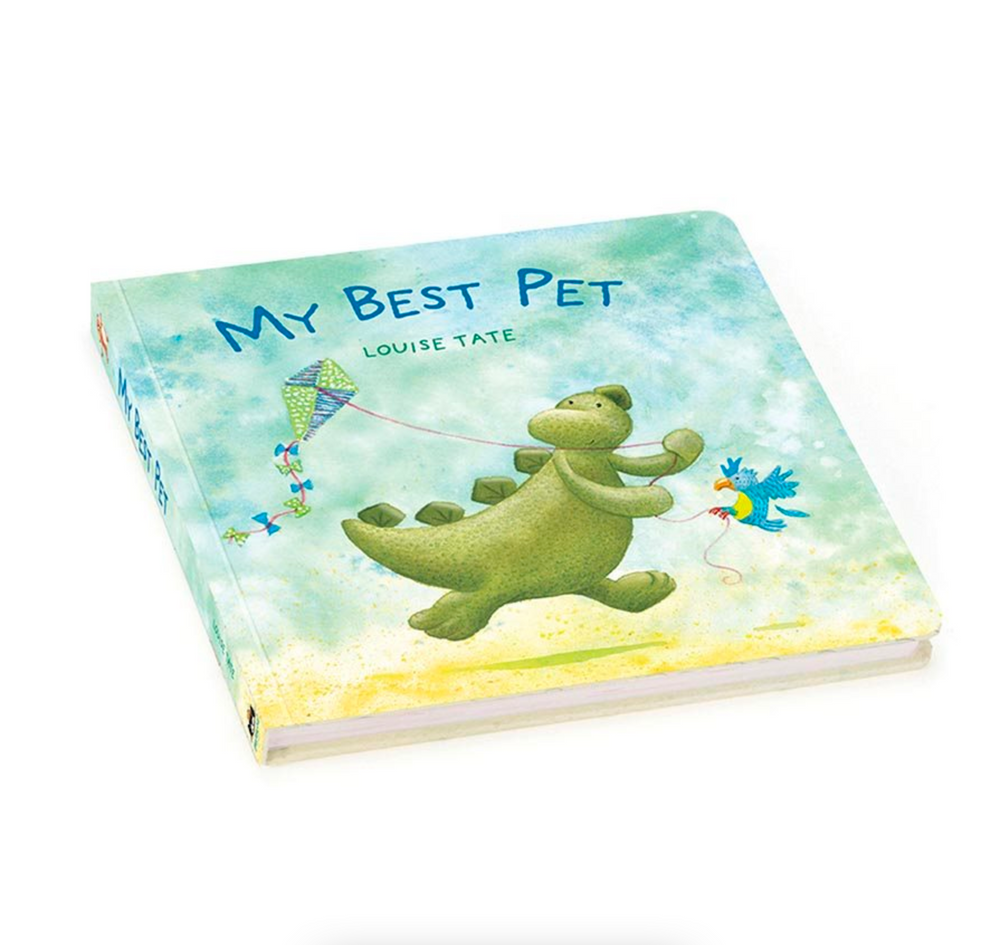 Jellycat My Best Pet Book (Bashful Dinosaur Book)