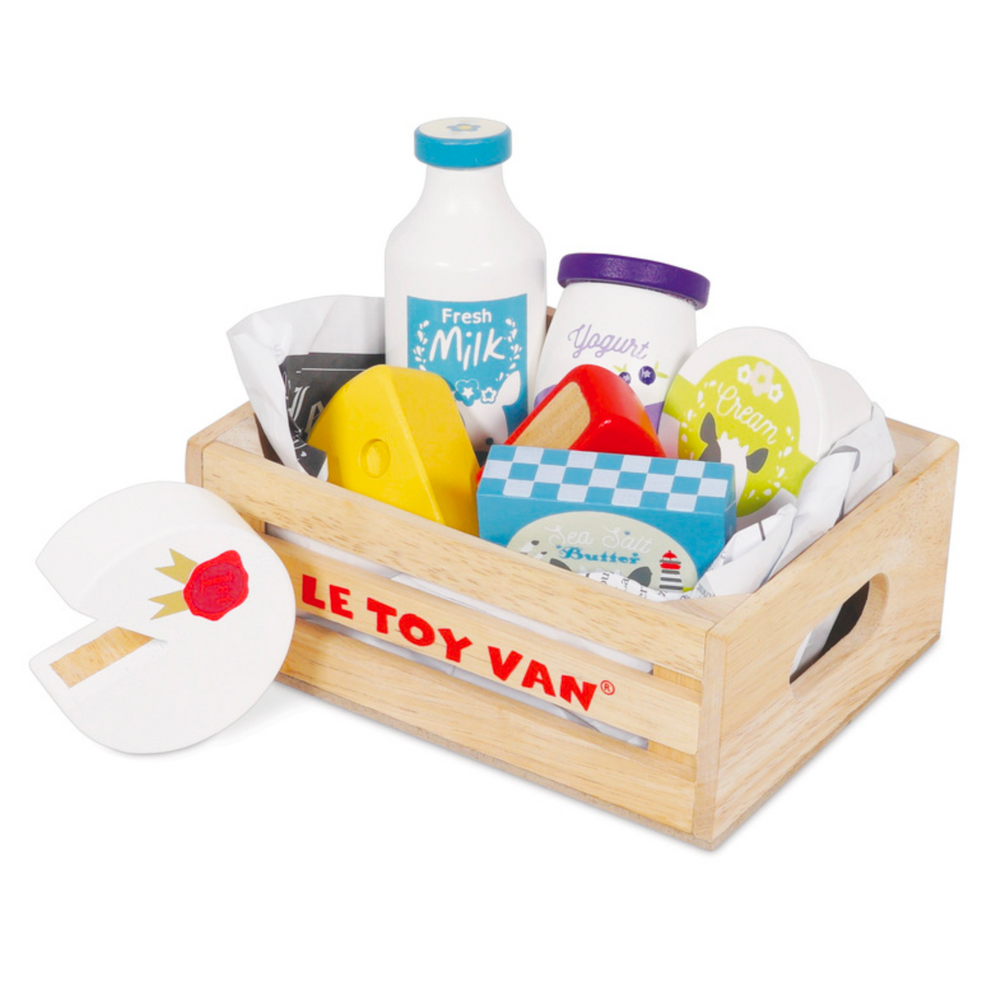 Cheese & Dairy Crate - Le Toy Van