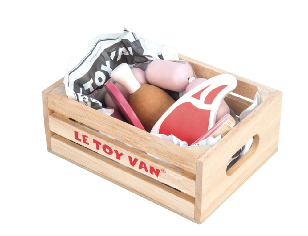 Market Meat in Crate - Le Toy Van