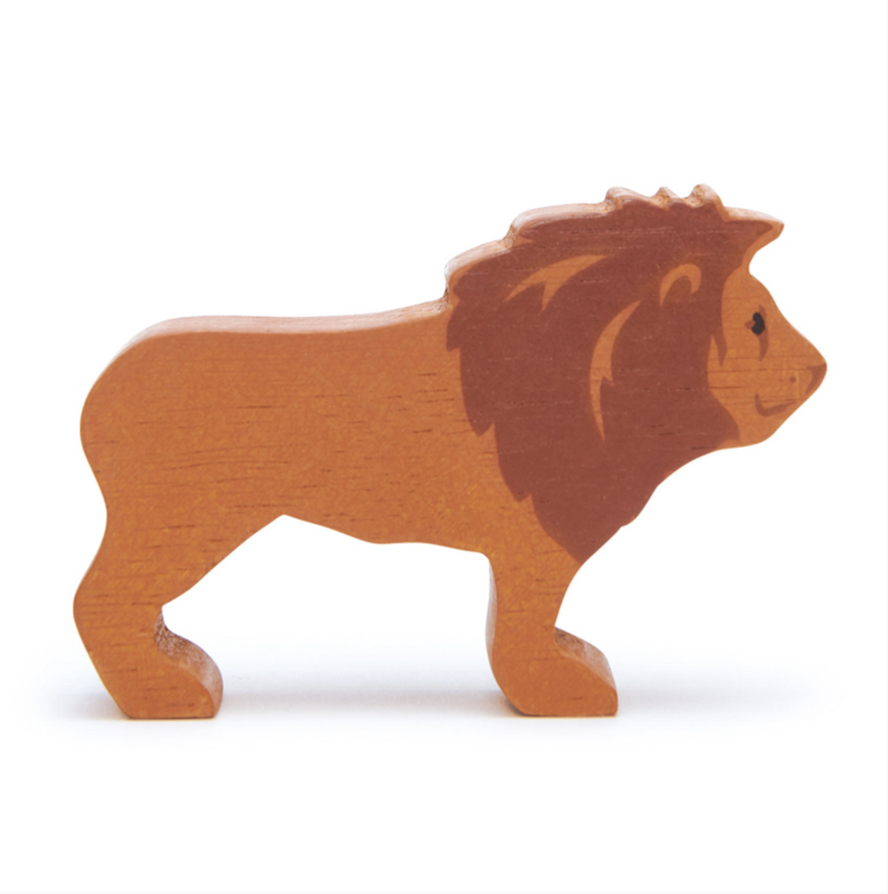 Lion - Wooden Animal