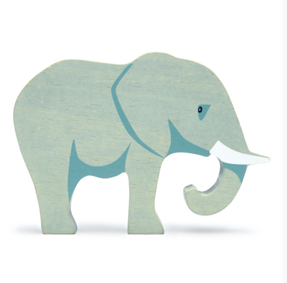 Elephant - Wooden Animal