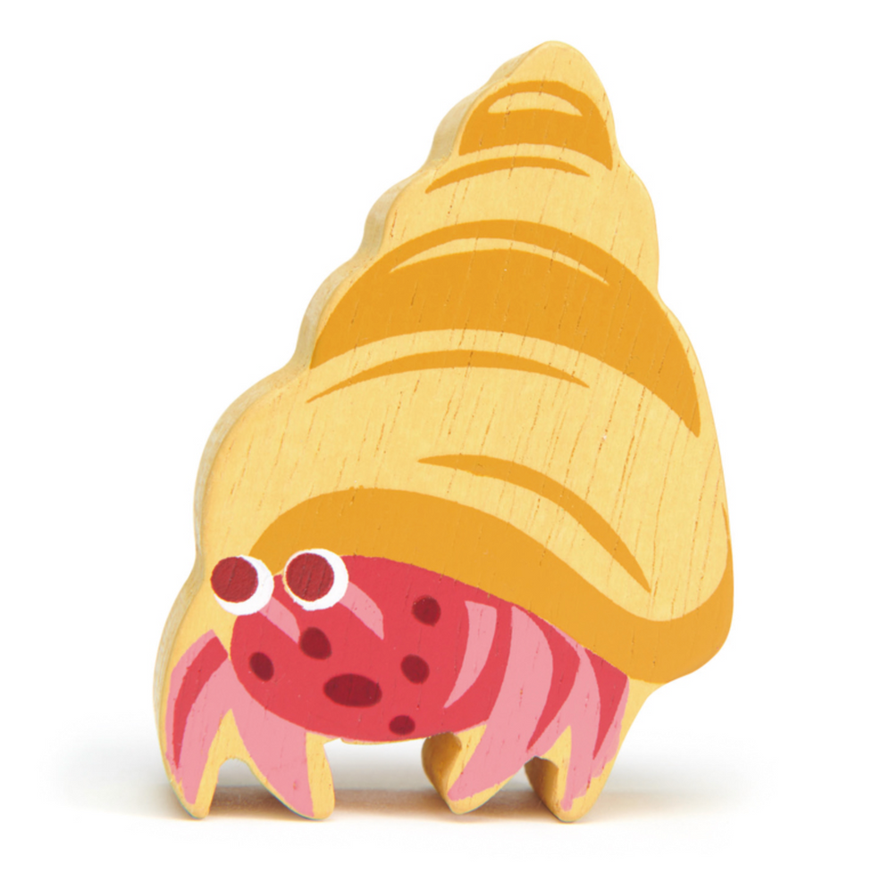 Hermit Crab - Wooden Animal