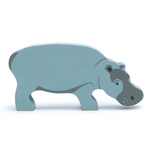 Hippo - Wooden Animal