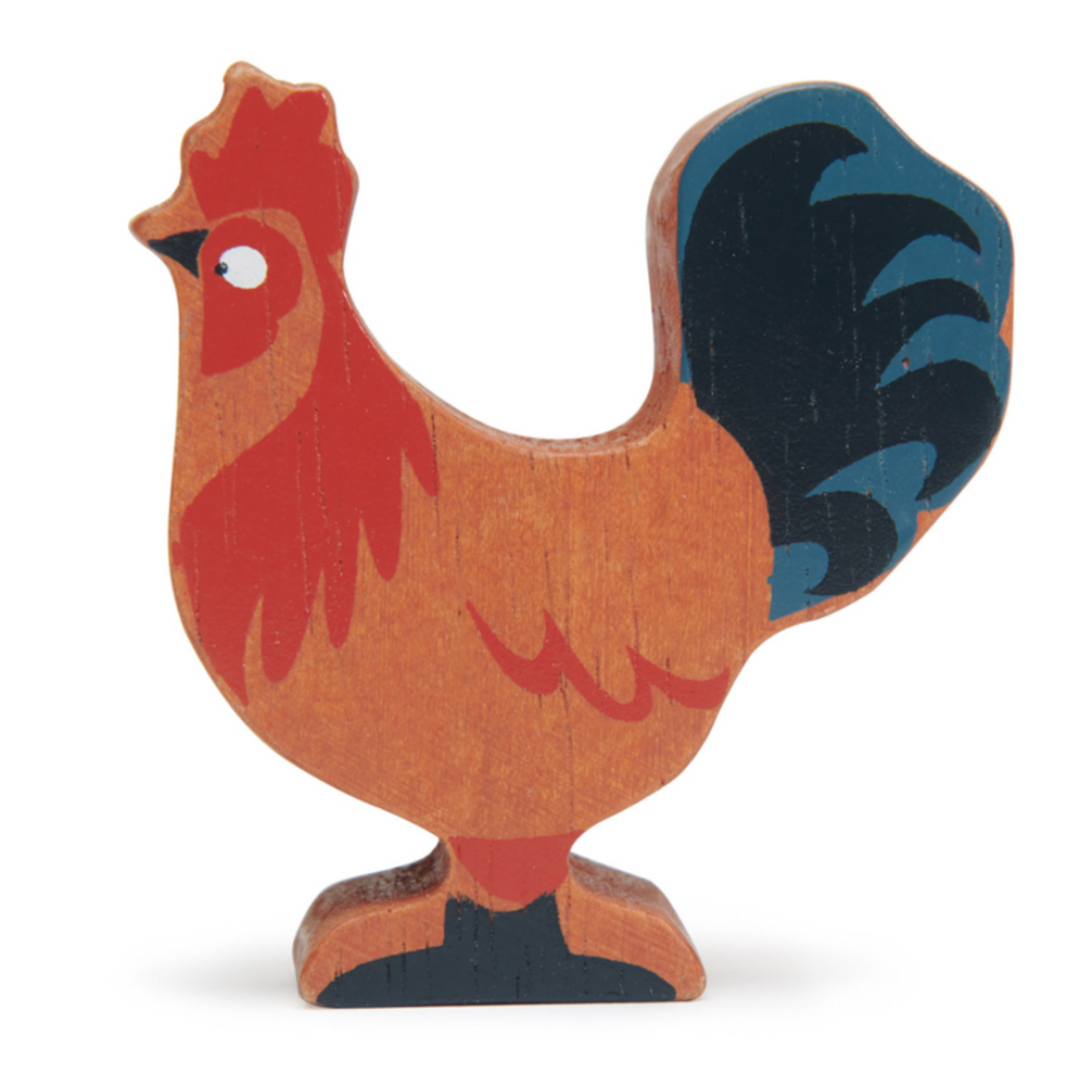 Rooster - Wooden Animal
