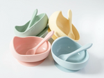 Silicone bowl set- wild indiana