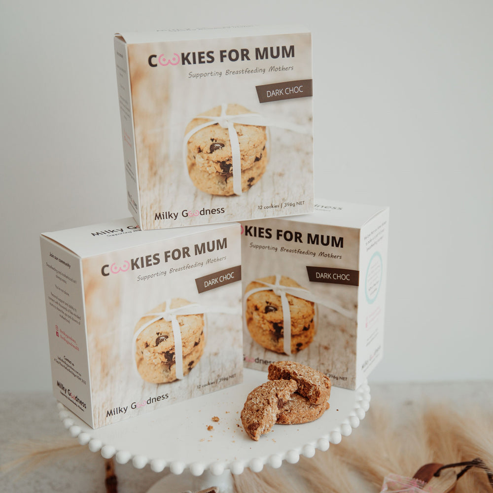 Milky Goodness- Dark Chocolate Chip Lactation Cookies