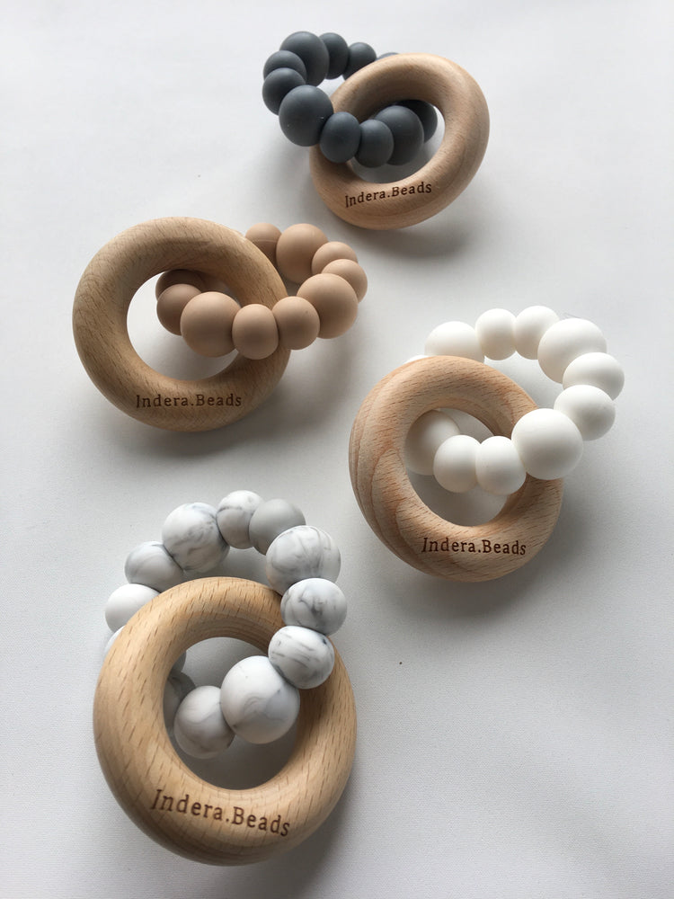 Scandi Silicone Teether