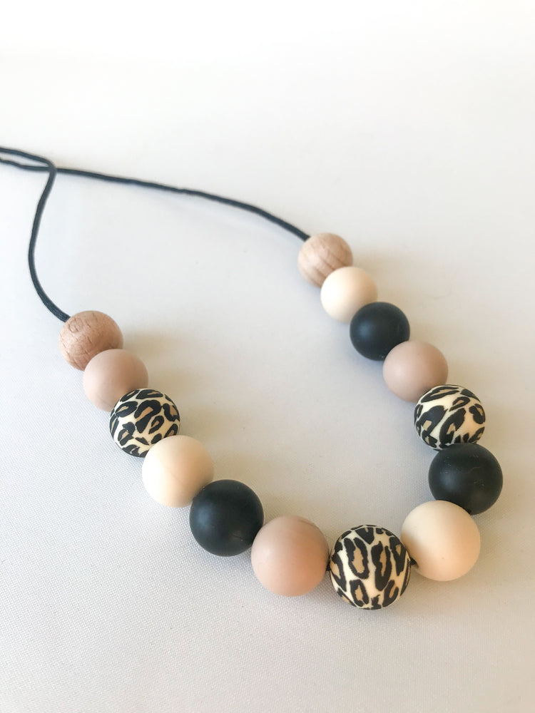 Leopard collection Nursing Necklace