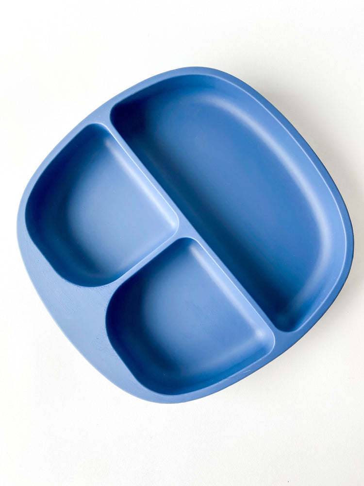 Silicone suction divided plates