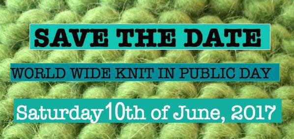 World Wide Knit in Public Day!