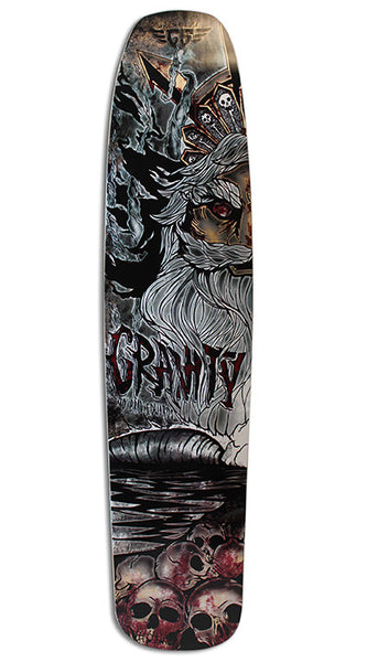 "40"" BRAD EDWARDS - ""SKULL BEACH"" DECK"