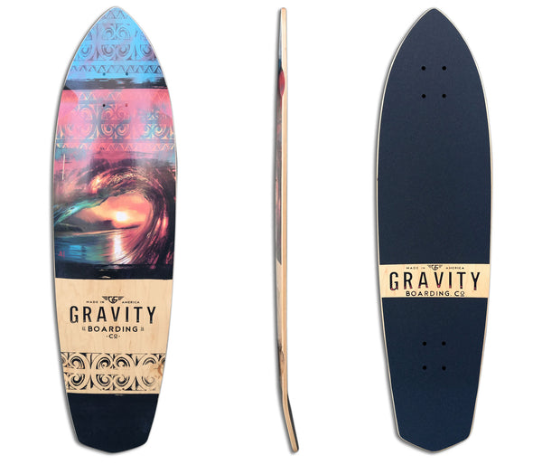 "36"" CRUISER - ""POLYNESIAN DREAM"" DECK"