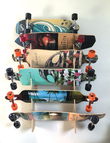 6 Board Wall Rack