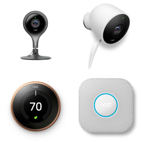 Black Friday deals on Nest Cameras, Thermostats, Smoke & Carbon Monoxide alarms