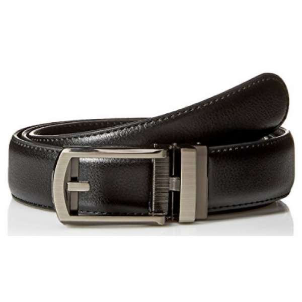 Comfort Click Men's Adjustable Perfect Fit Leather Belt