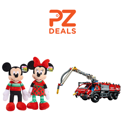 LEGO airport rescue vehicle (1094 pcs) with Mickey or Minnie Mouse