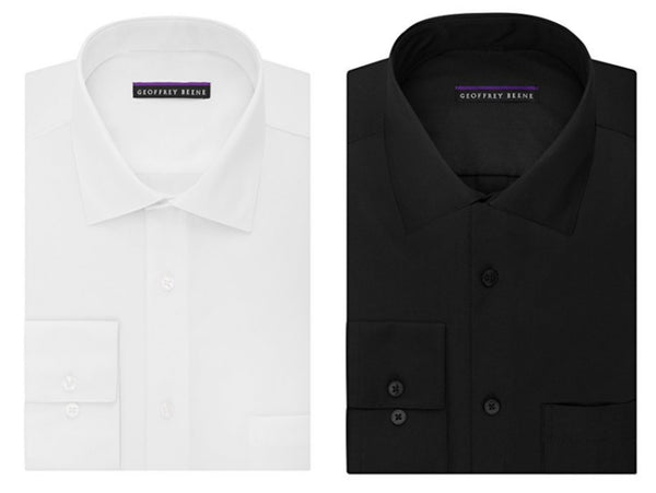 Geoffrey Beene men's regular fit dress shirt