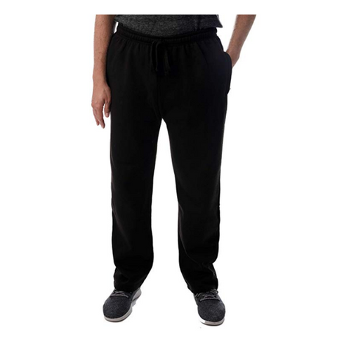 Men's Fleece Joggers Sweatpants with 3 Zipper Pockets