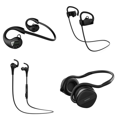 50% Off Aukey Bluetooth Earphones
