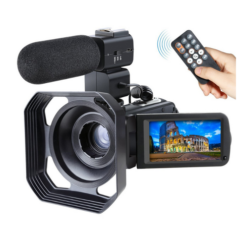 Full HD 1080P WiFi Video Camcorder With Mic