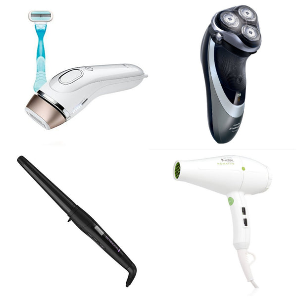 Up to 40% off hair tools, shavers, and more