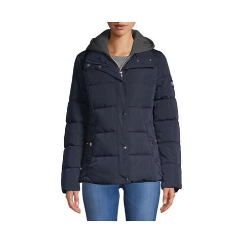 Tommy Hilfiger Women's Hooded Puffer Coat