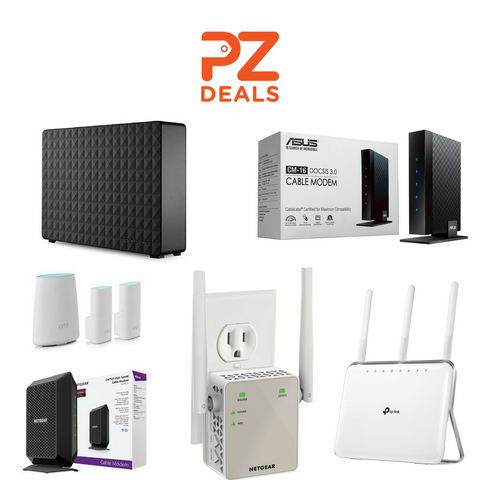 Up to 40% off storage and networking products